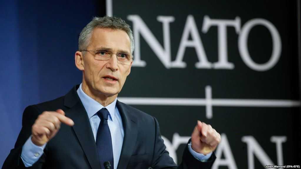 Генсек НАТО Столтенберг фото