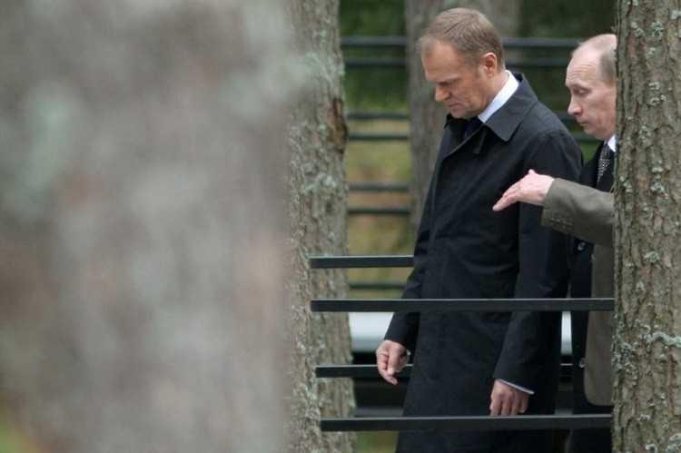 Путин с Туском