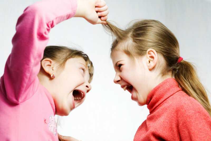 Близнецы ссорятся