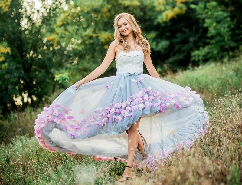 длина платья и юбки