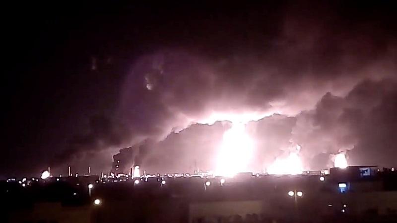 атака беспилотников саудовская аравия