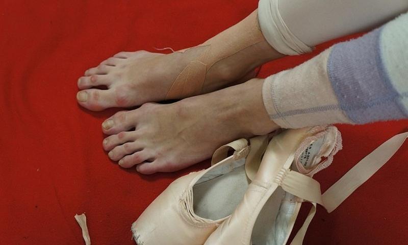 Ноги балерины
