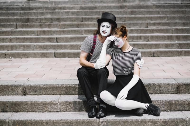 Пара клоунов