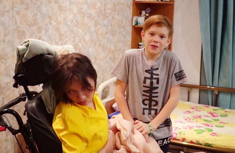 Ирина Банникова с сыном