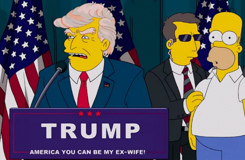 Трамп в Симпсонах