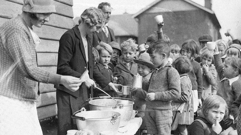 голод все же был   В Великую депрессию от голода умерли миллионы американцев. Так ли это?   (СОК.Медиа)