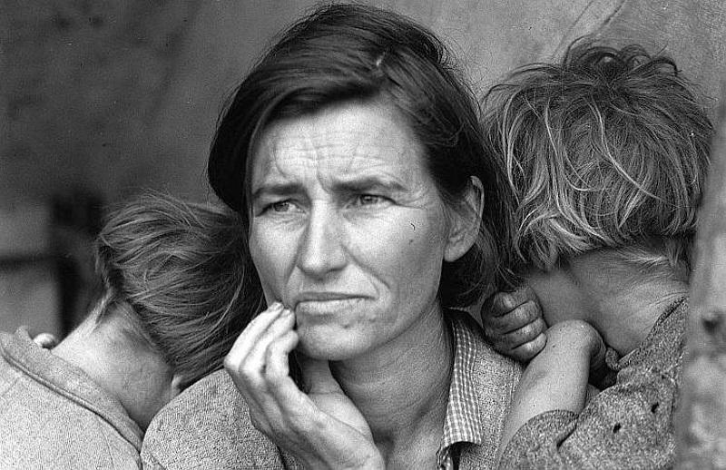 В Великую депрессию от голода умерли миллионы американцев. Так ли это? | (СОК.Медиа)