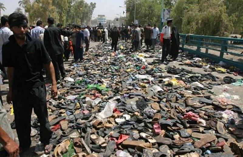 Мост через Тигр (Ирак)   Гибель в давке на массовых мероприятиях. 10 самых трагических случаев   (СОК.Медиа)